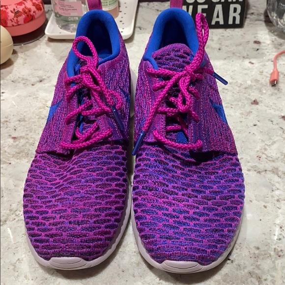 Nike Shoes | Purple Nike Roshes | Poshmark